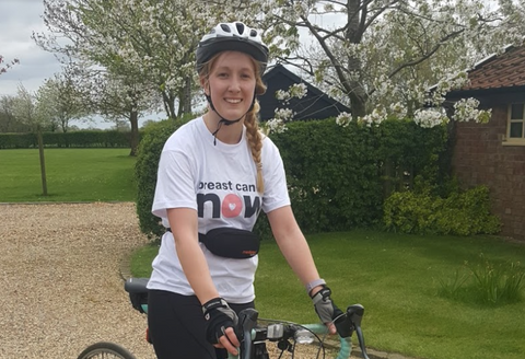 Meet Madi: An inspirational asthma sufferer looking to raise money for Breast Cancer Now