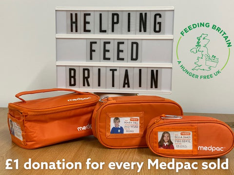 At Medpac we have pledged to donate £1 to Feed Britain for every Medpac sold in February 2021.