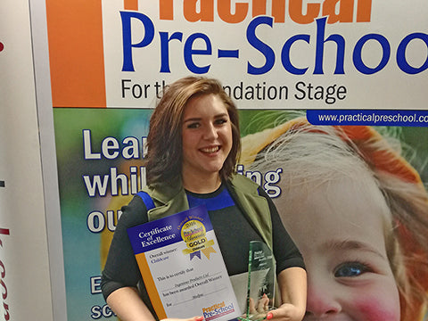 Proud winners of the Overall Winner at the Practical Pre-School Awards