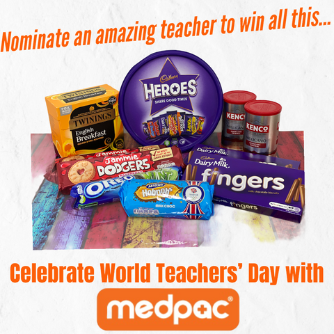 Celebrate World Teachers' Day 2020 by nominating your amazing teacher to win a prize