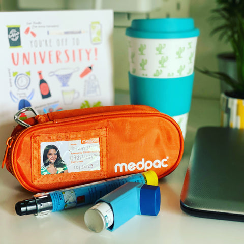 Advice for going to university or college with medication