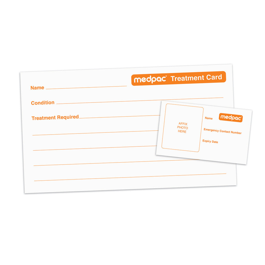 photo id card and treatment card large medpac