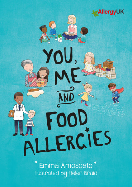 You, Me and Food Allergies Book