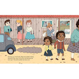 Maya Angelou - Little People, Big Dreams Picture Book, inside spread