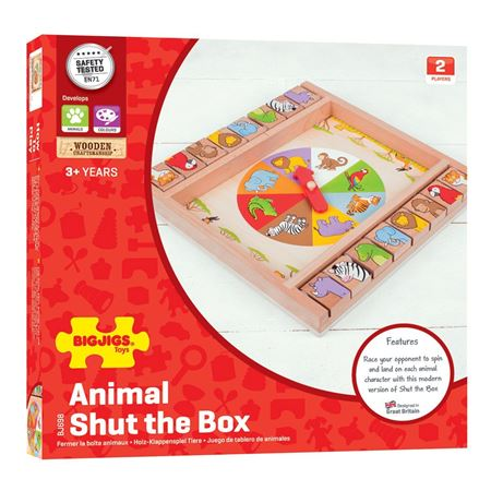 Animal shut the box - boxed