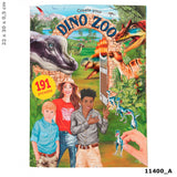 Create Your Dino Zoo Sticker Book, front cover