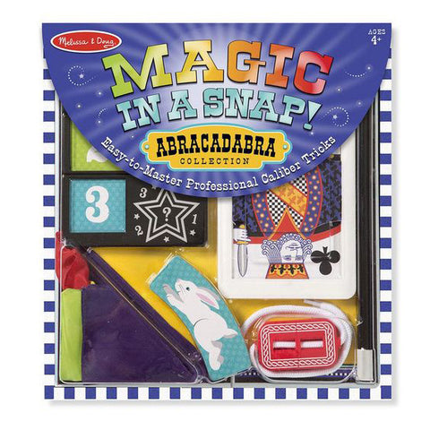 Magic in a Snap- Abracadabra - front of box