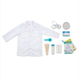Scientist Role Play Set, contents unpackaged