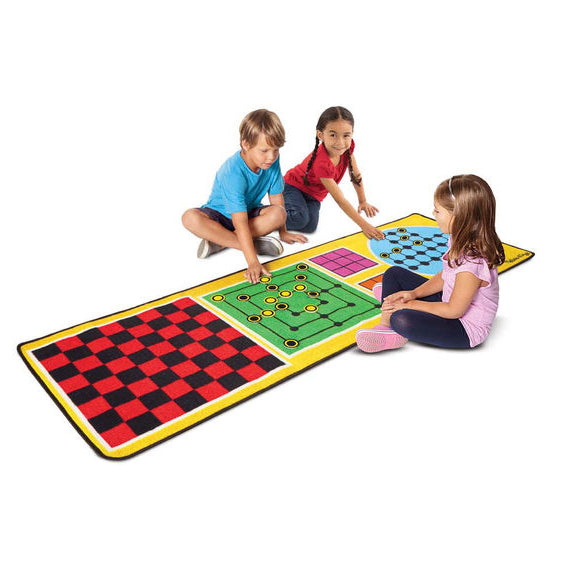 4-in-1 Game Rug, children playing