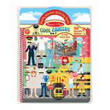 Melissa and Doug puffy stickers cool careers front cover
