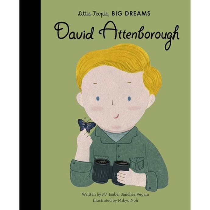 David Attenborough - Little People, Big Dreams Picture Book, front cover