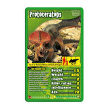 Dinosaurs -Top Trumps Game, sample card 1