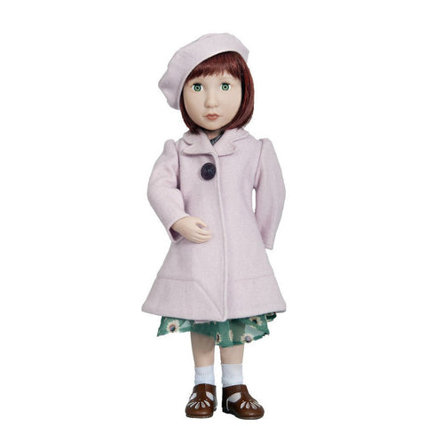 A Girl for All Time - Clementine's Coat and Beret on doll