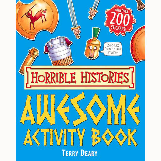 Horrible Histories Awesome Activity Book, front cover