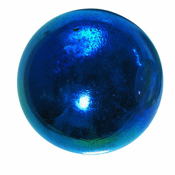 Lustered Blue Marble (medium) 22mm
