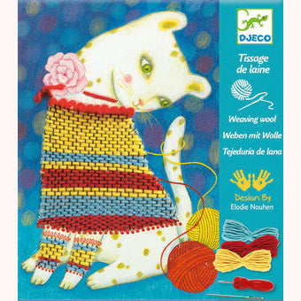 Woolly Jumper - Weaving With Wool by Djeco, front of box