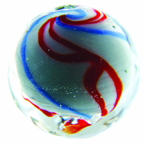 Handmade Celebration Marble (medium) 25mm