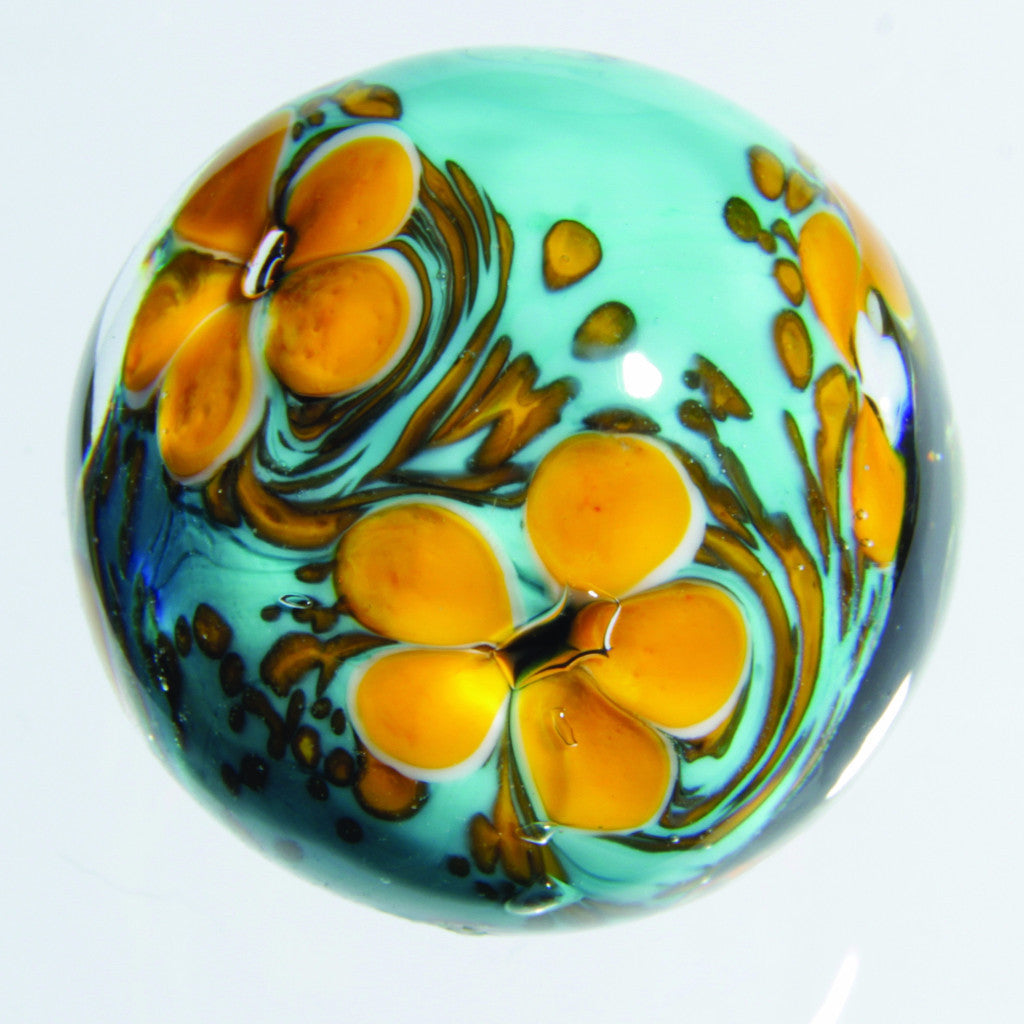 Handmade Cosmos Marble (medium) 22mm