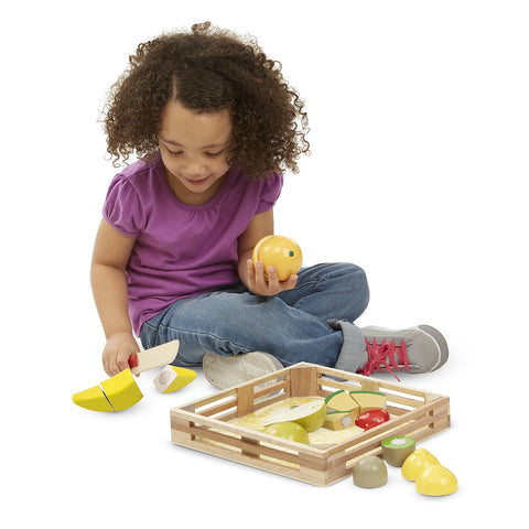 Cutting Fruit - Wooden Play Food