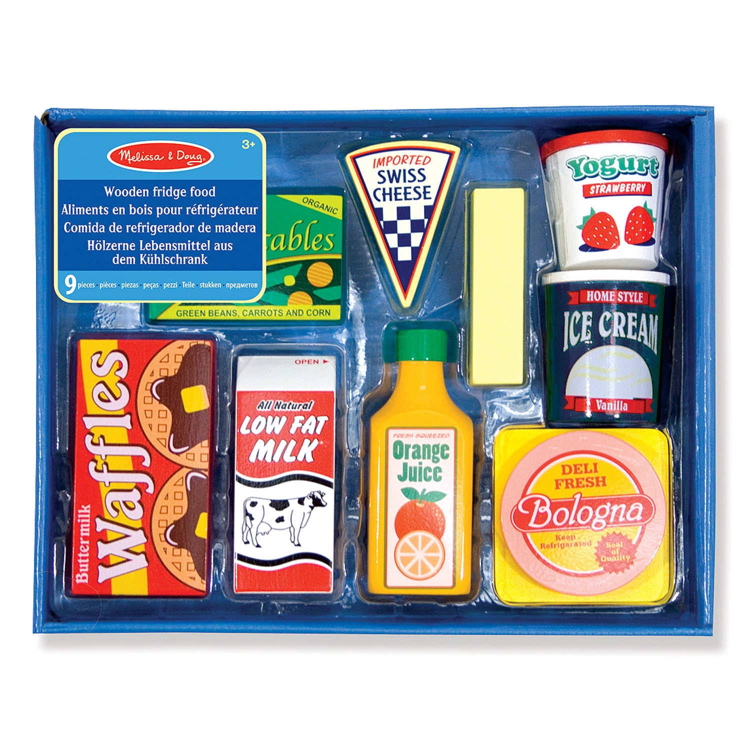 Fridge Food - Wooden Play Food