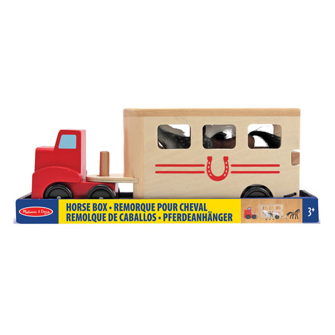 Horse Box Play Set