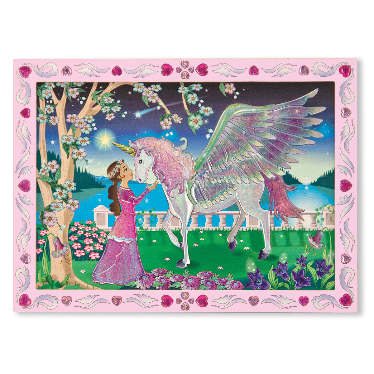 Mystical Unicorn - Peel & Press Sticker by Number