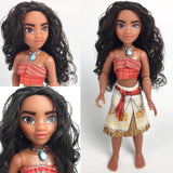 Moana of Oceania Adventure Doll by Hasbro, different face shots
