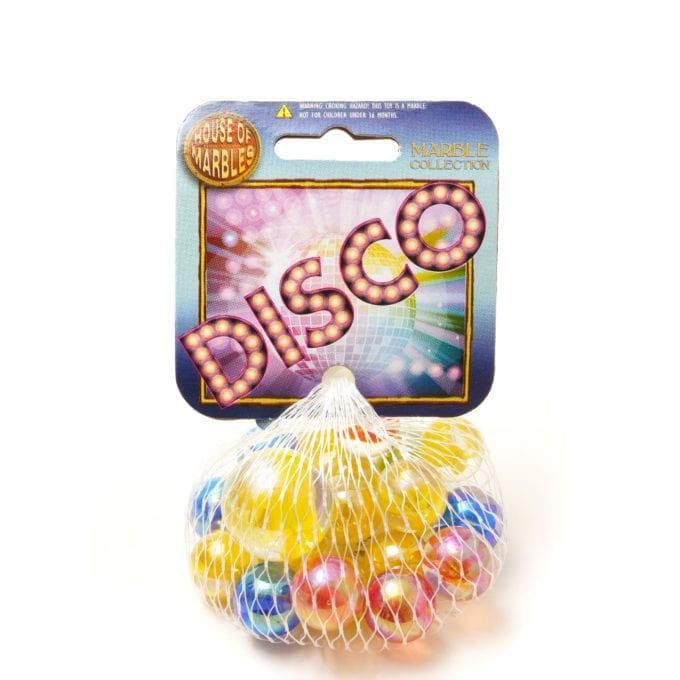 Net Bag Marbles - Disco