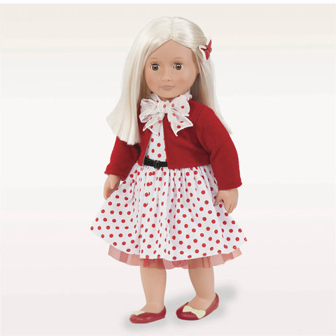 Rose - Our Generation Retro Doll, unboxed