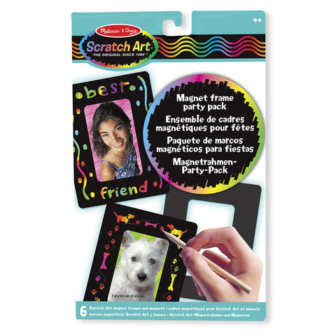 Magnetic Frame Scratch Art Party Pack