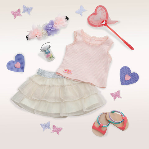A Butterfly Moment Deluxe Outfit - Our Generation