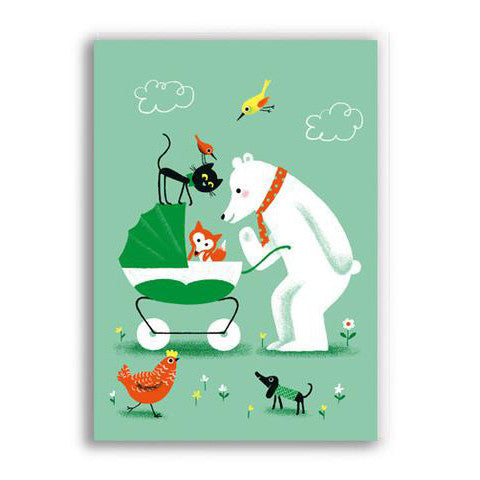 Hello Baby Greetings Card