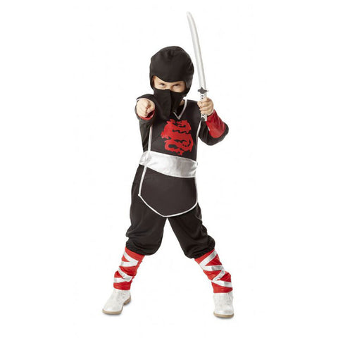 Ninja Role Play Costume, posed by girl