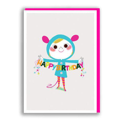 Birthday Banner Birthday Card