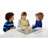 Children playing Monopoly Junior
