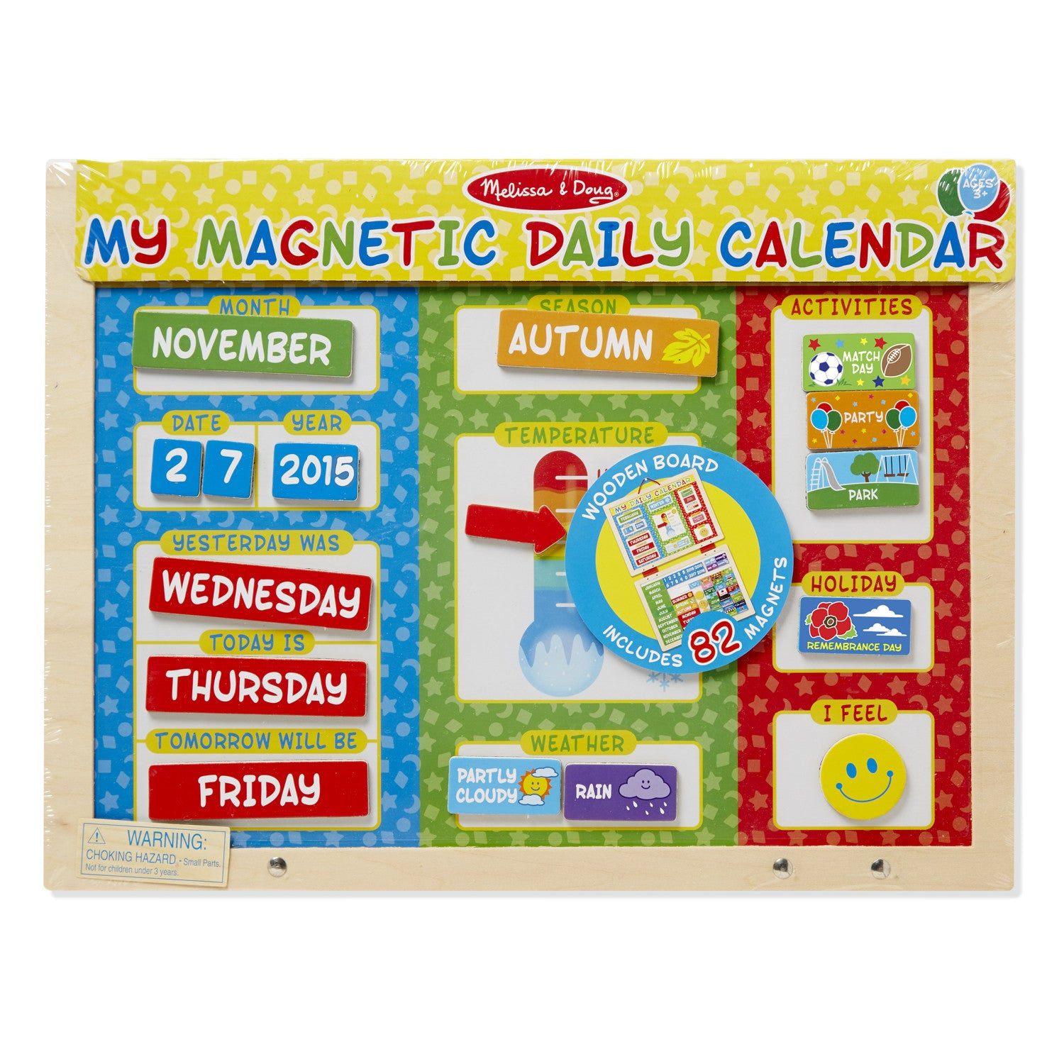 My Daily Magnetic Calendar