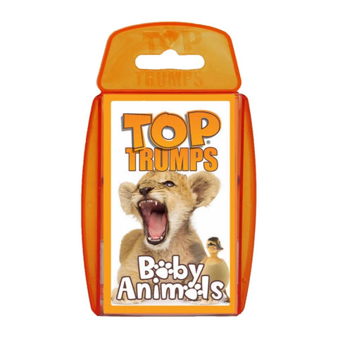 Baby Animals -Top Trumps Game, front of box