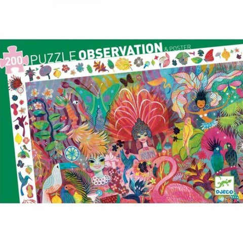 Carnival Observation Puzzle, boxed