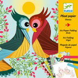 Birds - Iris Paper Folding by Djeco, front of box