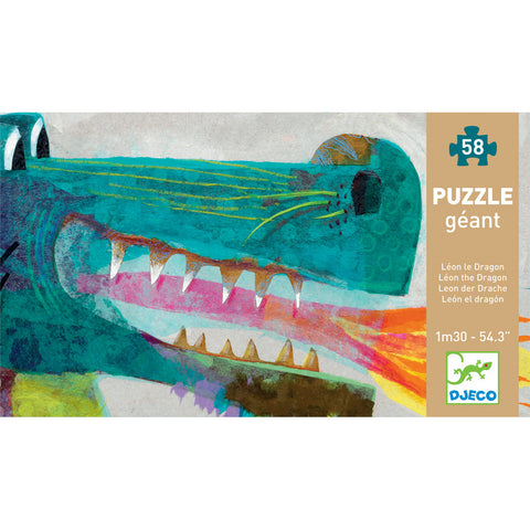 Leon The Dragon - Giant Puzzle, front of box