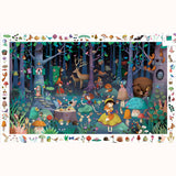 Enchanted Forest Observation Puzzle, completed picture