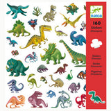 Dinosaur stickers , front of packet