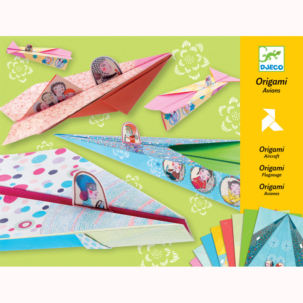 Pretty Paper Planes by Djeco, front of pack