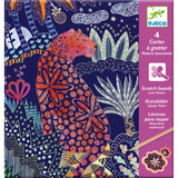 Lush Nature - Scratch Card Art by Djeco, front of pack