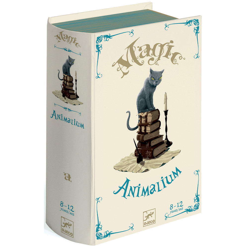 Animalium - Magic Trick by Djeco, book box