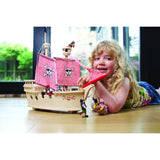 The Paragon Pirate Ship - Tidlo, with girl