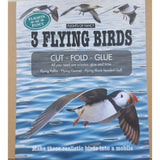 3 Flying Birds - Make A Mobile, close up of front of box