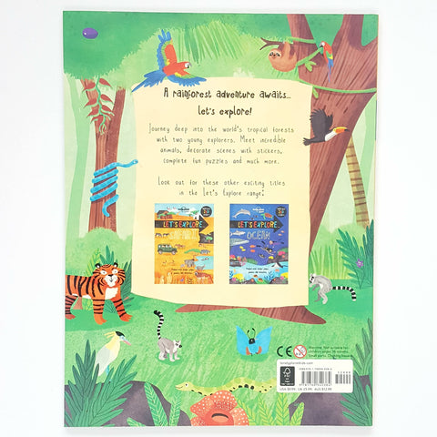 Let's Explore: Jungle - Lonely Planet Kids