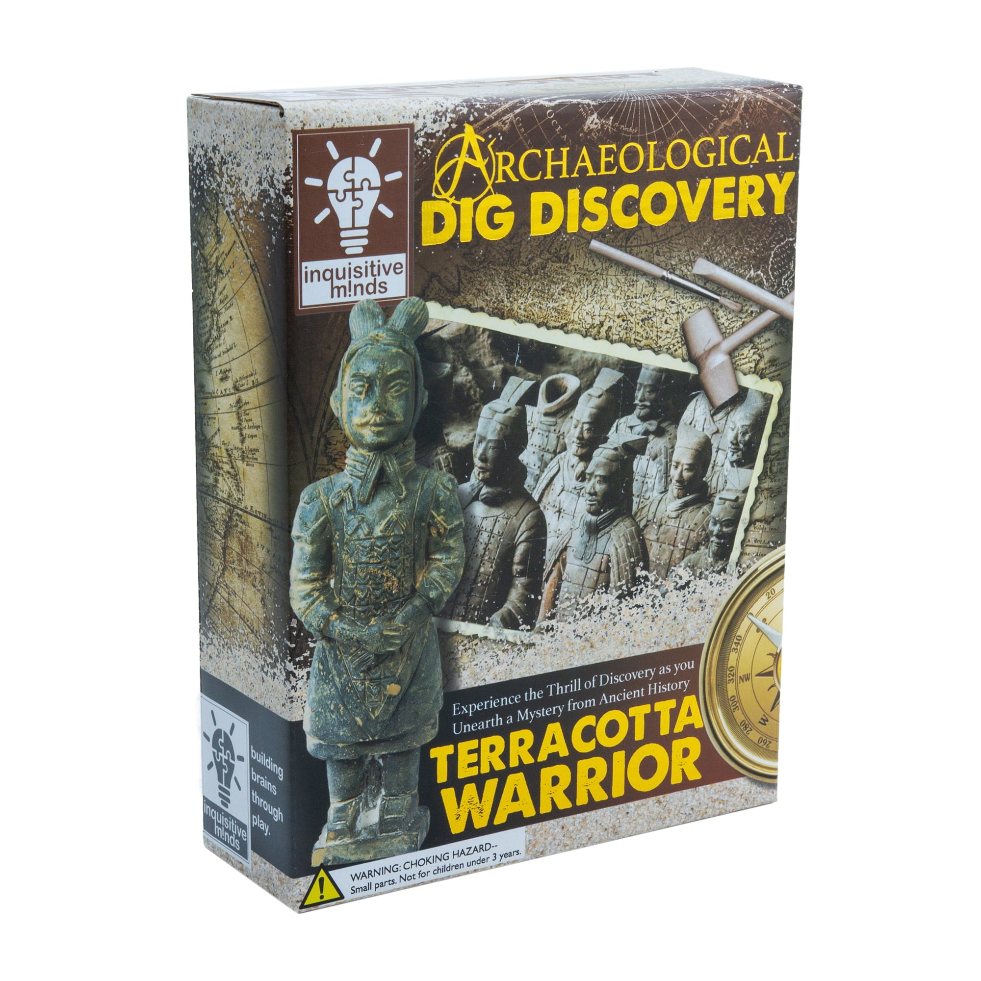 Terracotta Warrior Dig Kit, boxed