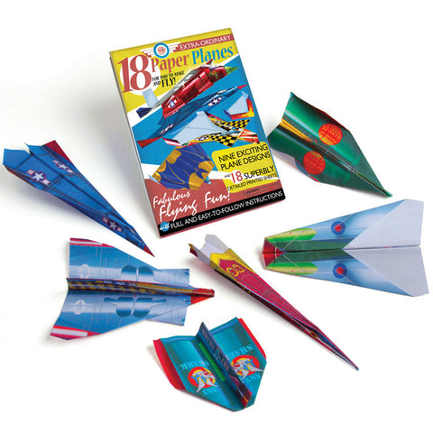Make Your Own Paper Planes displayed